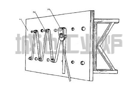 弯制电阻带专用夹具
