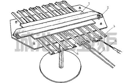 组装三角形电阻带用夹具