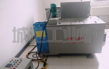全自动液压水冷实验淬火槽